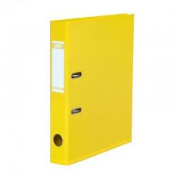 Arkinis segtuvas ekonominis, A4, 50 mm, geltonos spalvos