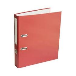 Arkinis segtuvas ekonominis, A4, 75mm, raudonos spalvos