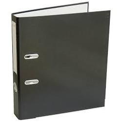 Arkinis segtuvas ekonominis, A4, 75mm, juodos spalvos