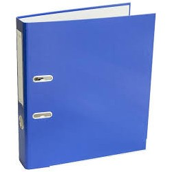Arkinis segtuvas ekonominis, A4, 75mm, tamsiai mėlynos spalvos
