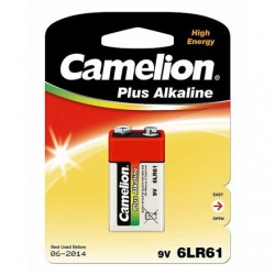 Camelion 6LF22-BP1 9V/6LR61, Plus Alkaline 6LR61, 1 pc(s)
