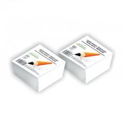 Lapeliai užrašams SMLT, 90 x 90 mm, 500 lapelių, balta