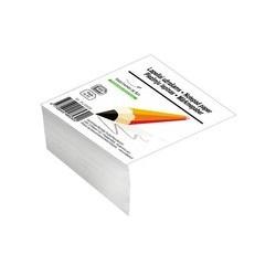 Lapeliai užrašams SMLT, 80 x 80 mm, 500 lapų, balta sp.