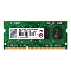 TRANSCEND 2GB DDR3 1600MHz CL11 SO-Dimm