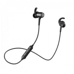 Belaidės ausinės QCY M1C IPX4, 12mm, Magnetinis užraktas, juodos. SPORTUI IR KASDIENAI