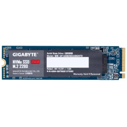 SSD|GIGABYTE|256GB|M.2|PCIE|NVMe|Write speed 1100 MBytes/sec|Read speed 1700 MBytes/sec|MTBF 1500000 hours|GP-GSM2NE3256GNTD
