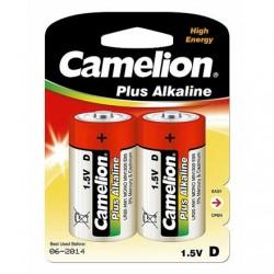 Camelion D/LR20, Plus Alkaline, 2 pc(s)