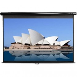 "Elite Screens Manual Series M99UWS1 Diagonal 99 "", 1:1, Viewable screen width (W) 178 cm, Black"