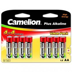 Camelion AA/LR6, Plus Alkaline, 8 pc(s)