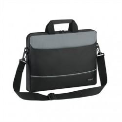 "Targus Intellect Fits up to size 15.6 "", Black/Grey, Shoulder strap, Messenger - Briefcase,"