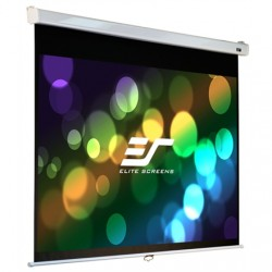 "Elite Screens Manual Series M113NWS1 Diagonal 113 "", 1:1, Viewable screen width (W) 203 cm, White"