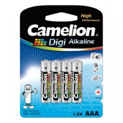 Camelion LR03-BP4DG AAA/LR03, Digi Alkaline, 4 pc(s)