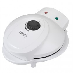 Camry Waffle maker CR 3022 1000 W, Number of pastry 5, Heart shaped, White
