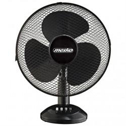 Mesko Fan MS 7310 Table Fan, Number of speeds 3, 45 W, Oscillation, Diameter 40 cm, Black
