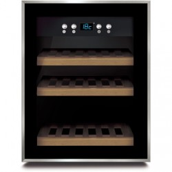 Caso Wine cooler WineSafe 12 Energy efficiency class G, Free Standing, Bottles capacity Up to 12 bottles, Cooling type Compresso