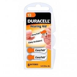 Duracell A13/DA13/ZL13, Zinc air cells, 6 pc(s)