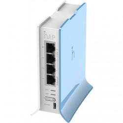 MikroTik Access Point RB941-2nD-TC hAP Lite 802.11n, 2.4GHz, 10/100 Mbit/s, Ethernet LAN (RJ-45) ports 4, MU-MiMO Yes, no PoE
