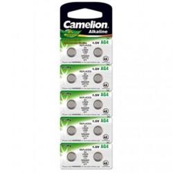 Camelion AG4/LR66/LR626/377, Alkaline Buttoncell, 10 pc(s)