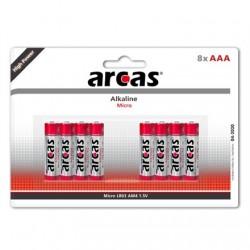 Arcas AAA/LR03, Alkaline, 8 pc(s)