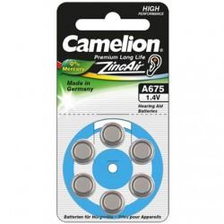 Camelion A675/DA675/ZL675, Zinc air cells, 6 pc(s)