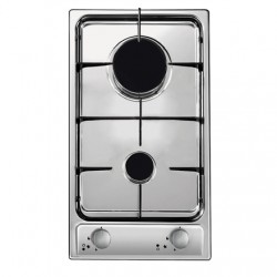 Candy CDG32/1SPX Gas, Number of burners/cooking zones 2, Stainless steel,