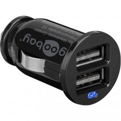 Twin USB Car Charger (2x USB) OEM Goodbay Dual USB car charger 2,1A 5 V