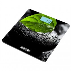 Mesko Bathroom scales MS 8149 Maximum weight (capacity) 150 kg, Accuracy 100 g, Black/ green