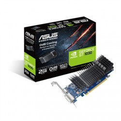 Asus GT1030-SL-2G-BRK NVIDIA, 2 GB, GeForce GT 1030, GDDR5, PCI Express 3.0, Processor frequency 1506 MHz, DVI-D ports quantity