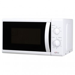 Gallet Microwave oven GALFMOM201W Mechanical, 800 W, White, Free standing, Defrost function
