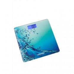 Mesko Bathroom scales MS 8156 Maximum weight (capacity) 150 kg, Accuracy 100 g, Multiple user(s), Blue