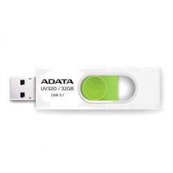 ADATA UV320 32 GB, USB 3.1, White/Green