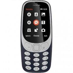 """Nokia 3310 (2017) Dark Blue, 2.4 """", TFT, 240 x 320 pixels, 16 MB, Dual SIM, Micro-SIM, Bluetooth, 3.0, USB version microUSB 2.0,"""