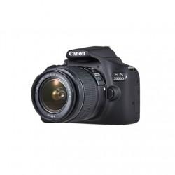 "Canon EOS 2000D 18-55 III EU26 SLR Camera Kit, Megapixel 24.1 MP, ISO 12800, Display diagonal 3.0 "", Wi-Fi, Video recording, APS"