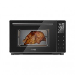 Caso Electronic Oven TO 32 Black, Easy to clean: Interior with high-quality anti-stick coating, Sensor touch, Height 34.5 cm, Wi