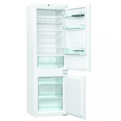 Gorenje Refrigerator NRKI4182E1 Energy efficiency class F, Built-in, Combi, Height 177 cm, No Frost system, Fridge net capacity