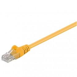 Goobay 68351 CAT 5e patch cable, U/UTP, yellow, 15 m