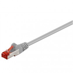 Goobay 93650 CAT 6 patch cable S/FTP (PiMF), grey, 7.5 m