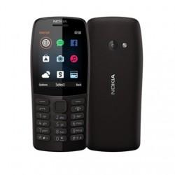 """Nokia 210 Black, 2.4 """", TFT, 240 x 320 pixels, 16 MB, Dual SIM, Bluetooth, 3.0, USB version microUSB, Main camera 0.3 MP, 1020 m"""