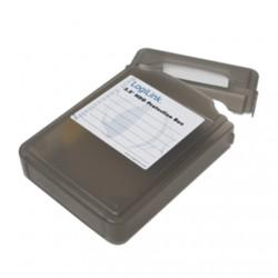 "LOGILINK UA0133B , 3,5"" HDD protection box for 1 HDD, black Logilink LogiLink UA0133B Protection Box for 3.5 Inch Hard Disk Driv"