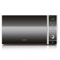 Caso Microwave oven with Grill MG 25 Free standing, 900 W, Grill, Silver