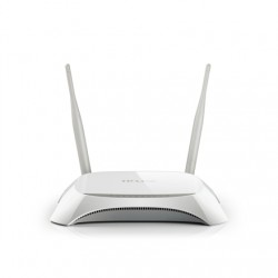 TP-LINK 3G/4G Router TL-MR3420 802.11n, 300 Mbit/s, 10/100 Mbit/s, Ethernet LAN (RJ-45) ports 4, 3G/4G via optional USB adapter,