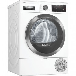 Bosch Dryer mashine WTX8HKL9SN Energy efficiency class A++, Front loading, 9 kg, Heat pump, LED, Depth 60 cm, Wi-Fi, Steam funct