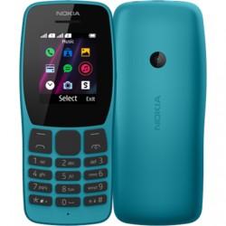 """Nokia 110 TA-1192 Blue, 1.77 """", TFT, 120 x 160 pixels, 4 MB, 4 MB, Dual SIM, Mini-SIM, USB version microUSB"""