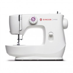 Singer Sewing Machine M1605 Number of stitches 6, Number of buttonholes 1, White