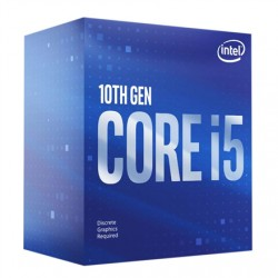 Intel i5-10400, 2.9 GHz, LGA1200, Processor threads 12, Packing Retail, Cooler included, Processor cores 6, Component for PC
