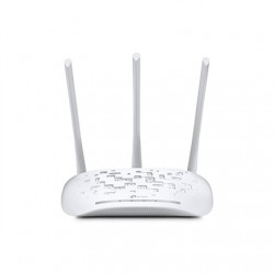 TP-LINK Access Point TL-WA901N 802.11n, 2.4, 450 Mbit/s, 10/100 Mbit/s, Ethernet LAN (RJ-45) ports 1, PoE in/out, Antenna type 3