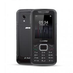 "Allview M10 Jump Black, 2.8 "", QVGA, 240 x 320 pixels, 64 MB, 128 MB, Dual SIM, 3G, Bluetooth, 2.0, USB version microUSB, Built-"