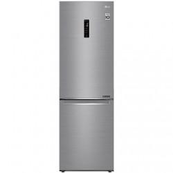 LG Refrigerator GBB71PZDMN Energy efficiency class E, Free standing, Combi, Height 186 cm, No Frost system, Fridge net capacity