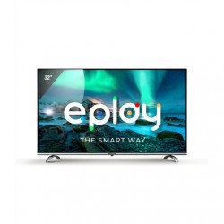 """Allview Smart Android LED TV, 32"""" (81cm), HD ready, Wi-Fi, Black /Silver"""
