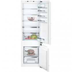 Bosch Serie 6 Refrigerator KIS87AFE0 Energy efficiency class E, Built-in, Combi, Height 177 cm, Fridge net capacity 209 L, Freez